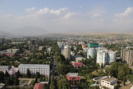 Tajikistan's capital city