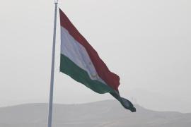 Tajikistan tallest flagpole